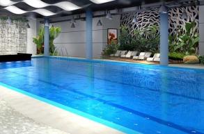 银杏广场游泳馆恒温泳池
