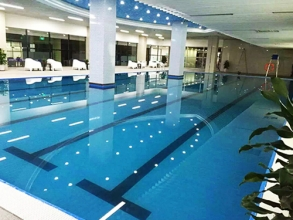 重庆得康健身俱乐部拆装式恒温泳池工程